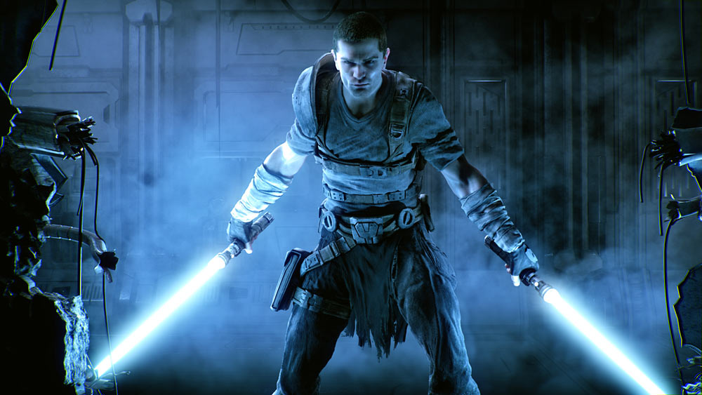 The now non-canon Starkiller from  The Force Unleashed  series, who walked the line between Light and Dark and later, his house sigil is used as the symbol for the Rebel Alliance.