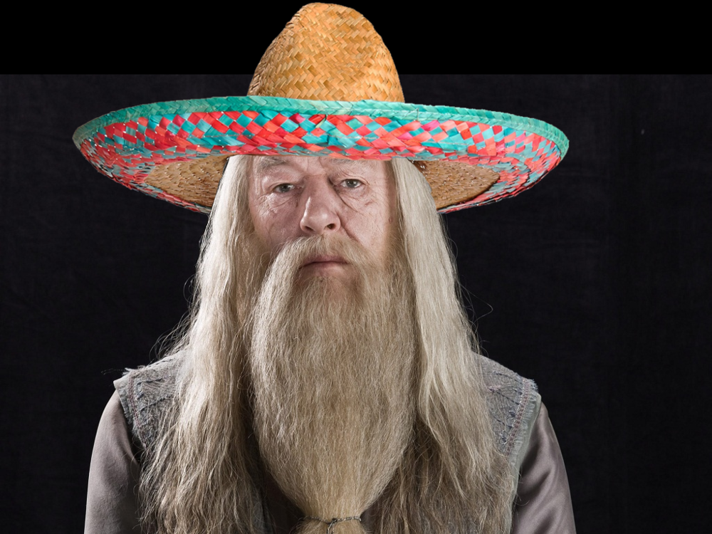 Did someone say 'Mexican Dumbledore'?