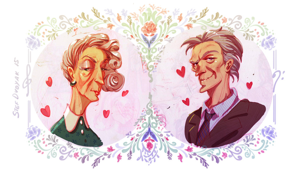 OldCouple_By_Steph_Dvoyak