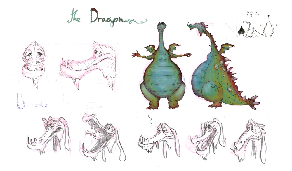 Dragon CharacterDesign_By_Steph_Dvoyak