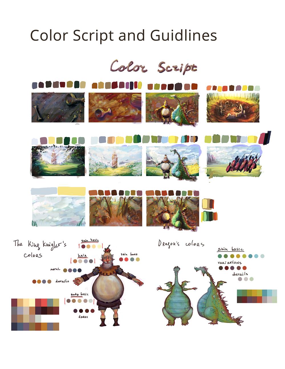 Color Script Steph Dvoyak