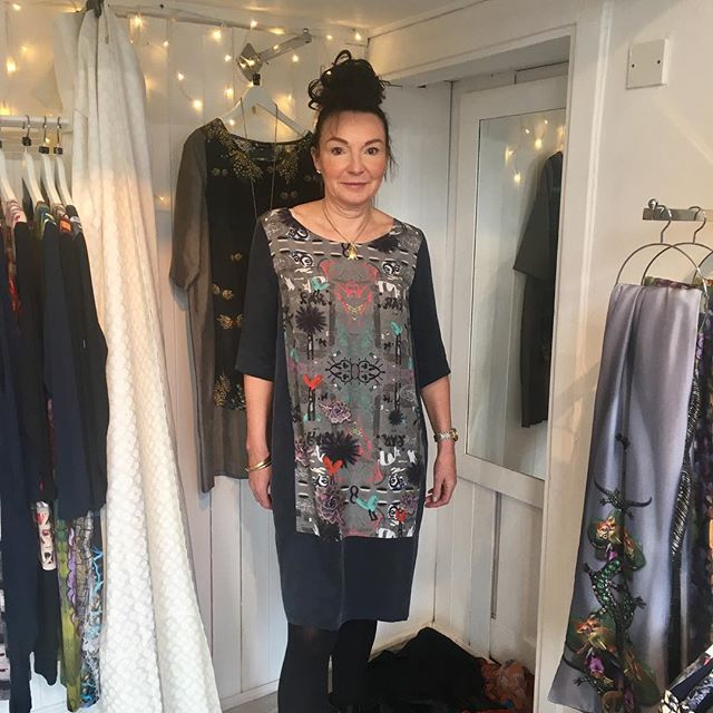 New collection dress sold and looking fabulous!  To this lovely lady. Whitstable pop up open till this Thursday 8pm.