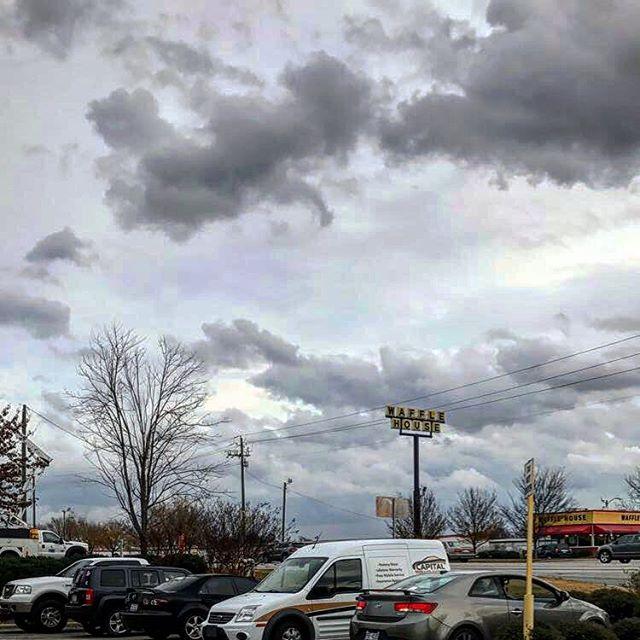 ☁️ ⚡️ #storm #stormclouds #cloudporn #sky #stormysky #stormyskies