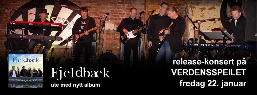 Fjeldbæk releasekonsert Verdensspeilet