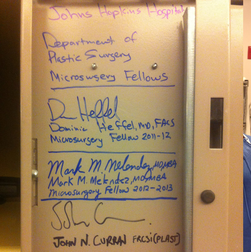 MY LOCKER, JOHNS HOPKINS HOSPITAL - 2014