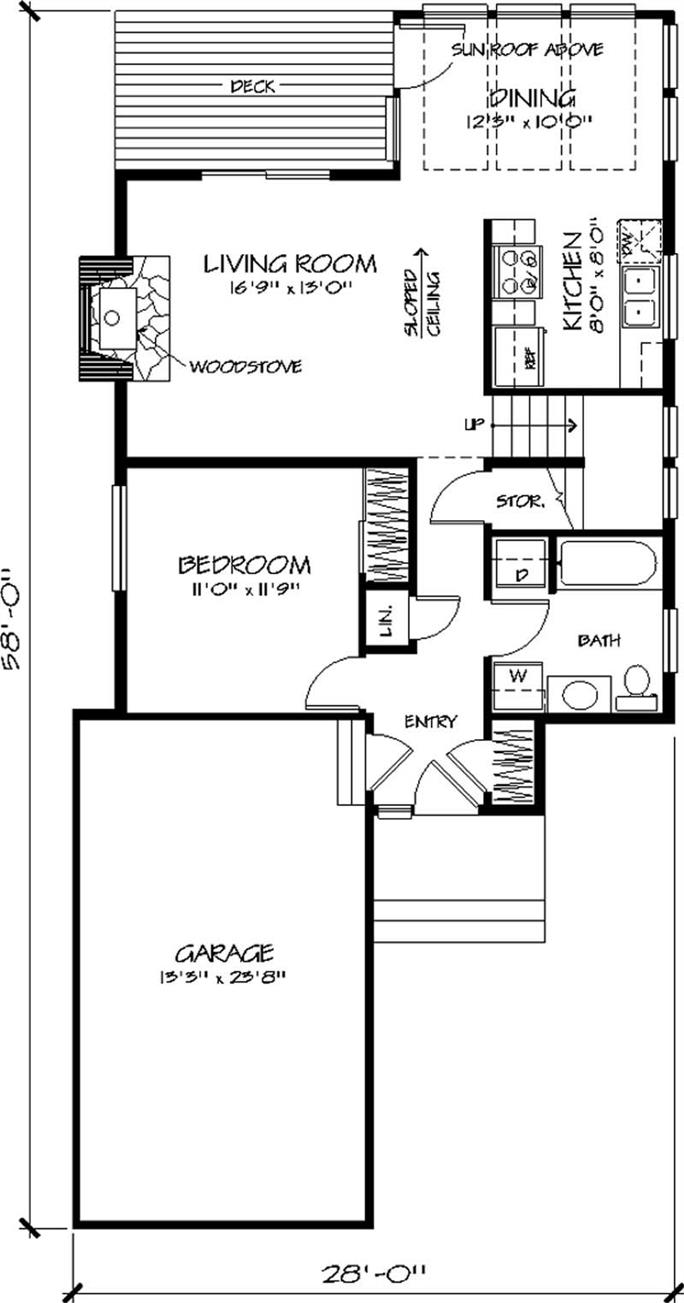 Small house plans are perfect neely construction for Perfect small house plan