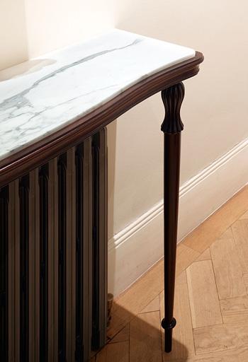 Console Table Radiator Shelf Jill Scholes Interior Design