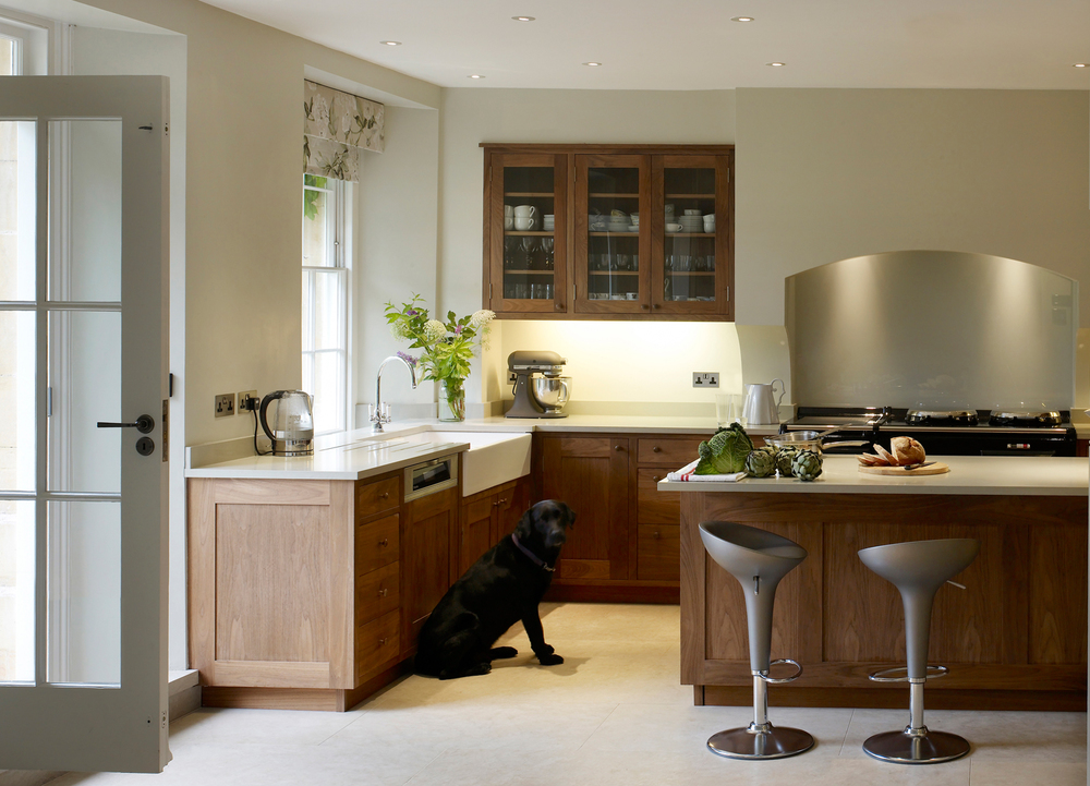 Jill Scholes Interior Design, Oxfordshire Country House, bespoke kitchen design
