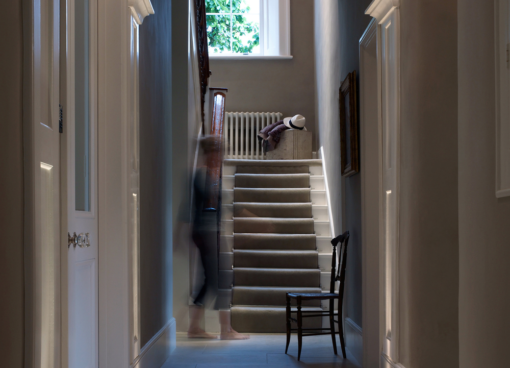 Jill Scholes Interior Design, Oxfordshire Country House, entrance hall