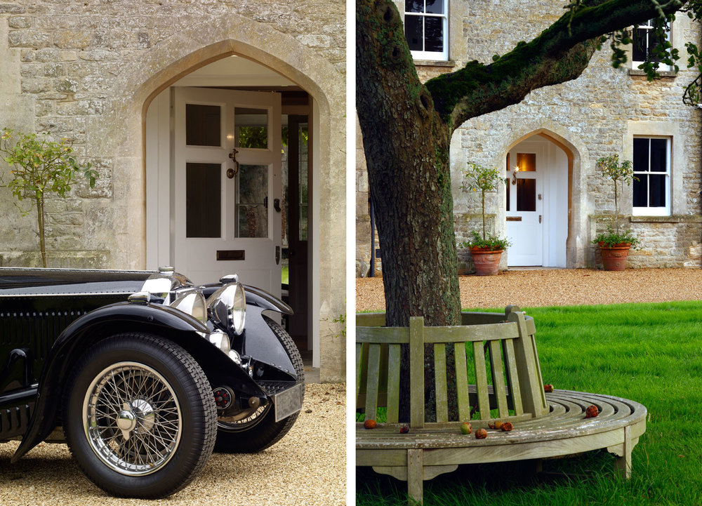 Jill Scholes Interior Design, Oxfordshire Country House, main entrance