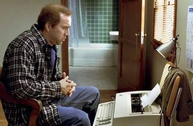 《改编剧本》(Adaptation) 中的尼古拉斯·凯奇(Nicolas Cage)