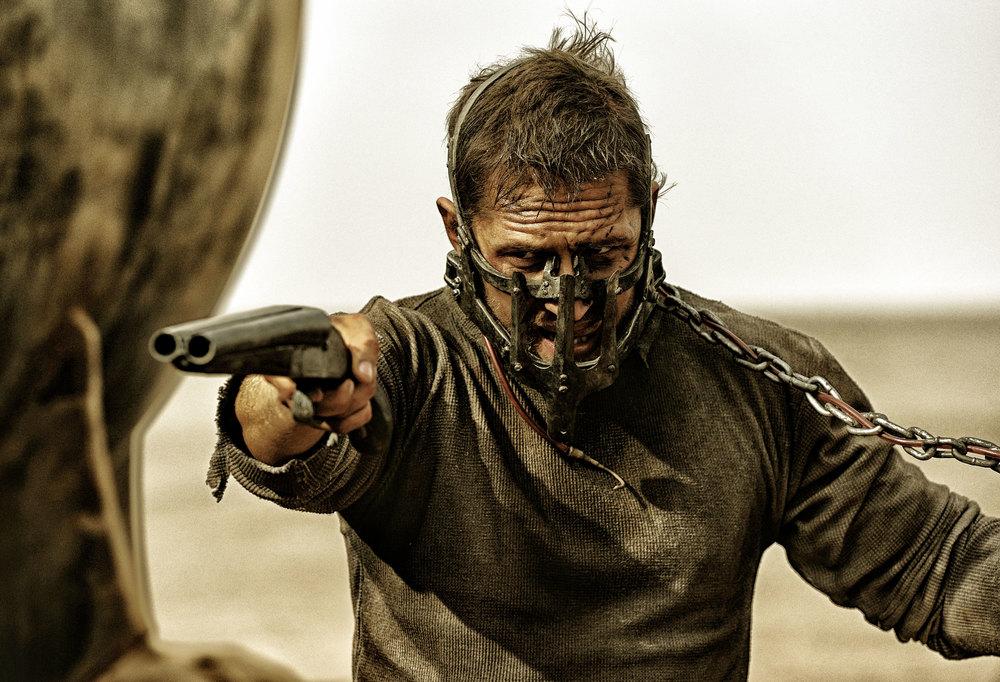 《疯狂的麦克斯》剧照,男主角汤姆·哈迪