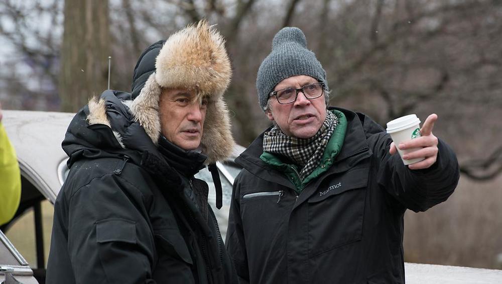 爱德华·拉奇曼(左)与托德·海因斯(右)