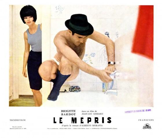 电影《蔑视》海报