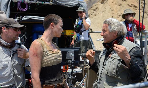 乔治·米勒在《疯狂麦克斯4》拍摄现场