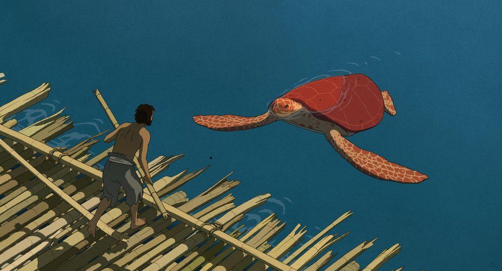 《红海龟》剧照