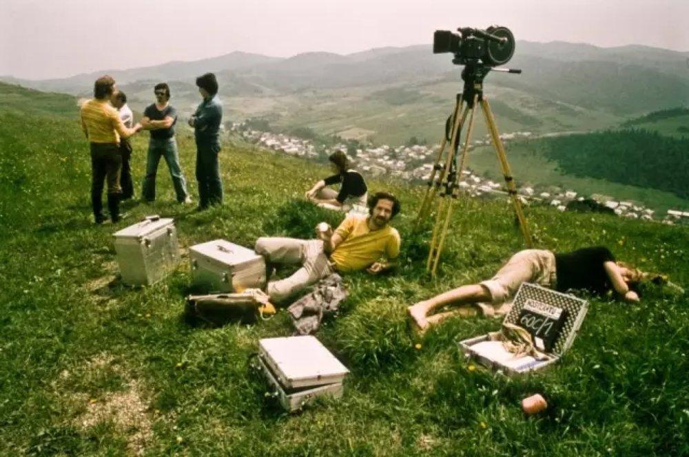 赫尔佐格在《吸血鬼诺斯法拉图》(1979)片场