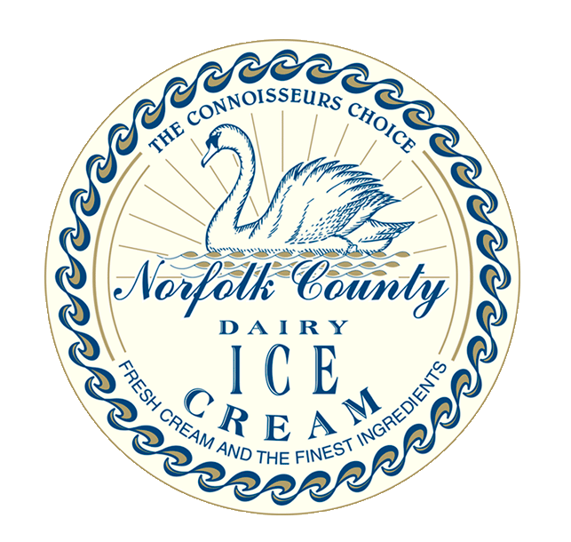 Norfolk County Dairy Ice Cream Logo