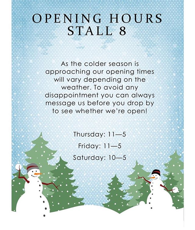 As the colder season is approaching we've decided to only open Thursday, Friday and Saturday's depending on the weather! If you're wanting to pop by, feel free to give us a message beforehand to see whether we're open. Thank you for understanding! 💞  #stall8norwich #norwichmarket #norwichfood #norwichfoodie #norwichfoodlover #norwichfoodblog #norwichfoodscene #finecity #norwich #supportindependent #supportlocal #lakenhamcreamery #norwichlife #thisisnorwich #independentnorwich #icecream #streetfood #coldweather #winter