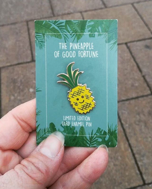 Repost from @my_norfolk_dream ig story. Our Pineapple pin badges🍍  #stall8norwich #norwichmarket #norwichfood #norwichfoodie #norwichfoodlover #norwichfoodblog #norwichfoodscene #finecity #norwich #supportindependent #supportlocal #lakenhamcreamery #norwichlife #thisisnorwich #independentnorwich #icecream #streetfood #pineapple #pineappleofgoodfortune #pinbadge #repost