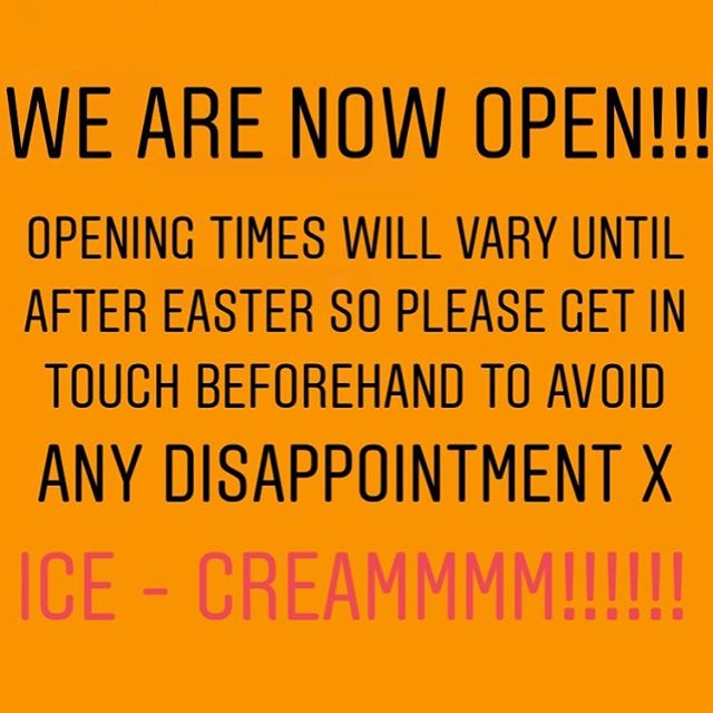 We have now reopened for the season! Oh how we have missed the market... roll on summer ☀️☀️☀️