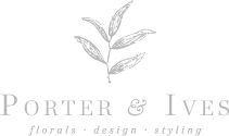 Porter & Ives | Creative Direction and Floral Design by Elizabeth Trenti. South Carolina, North Carolina, Washington D.C