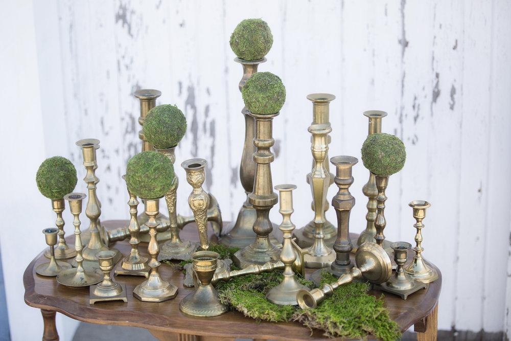 Gold Candlesticks~Rental 1.50 each
