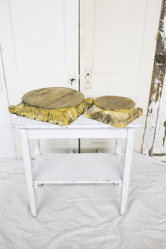 Wood Platforms~Rental $10-15 Each