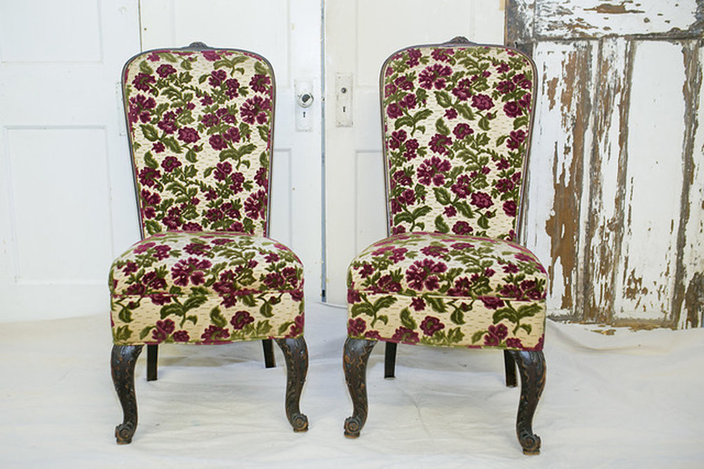 Rose Floral Chairs~$35 each