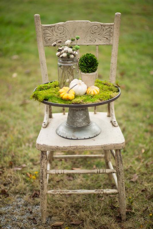 Chippy White Chair~ Rental $12