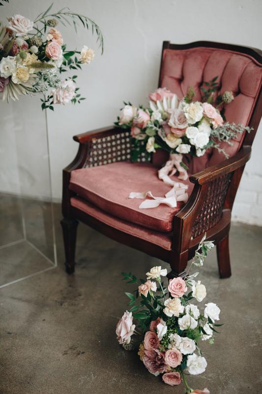 Rose Cane Chair~Rental $25