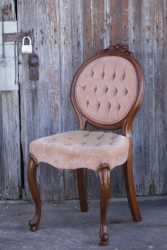 Sweetheart Pink Chair~Rental $25