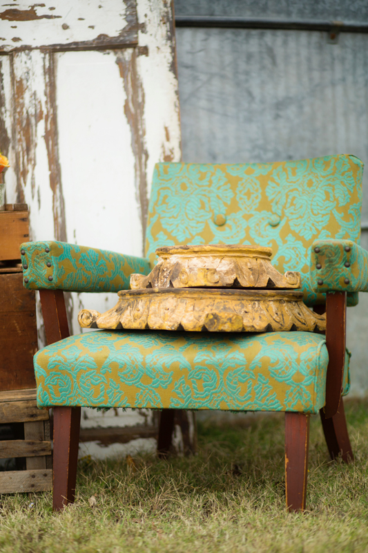 Turquoise Chair~Rental $20