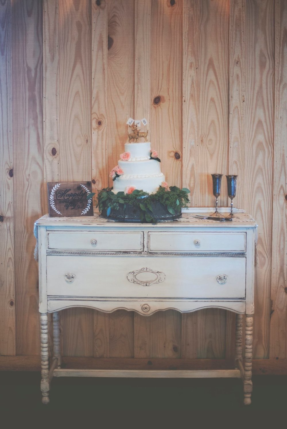 White Buffet~Rental $65