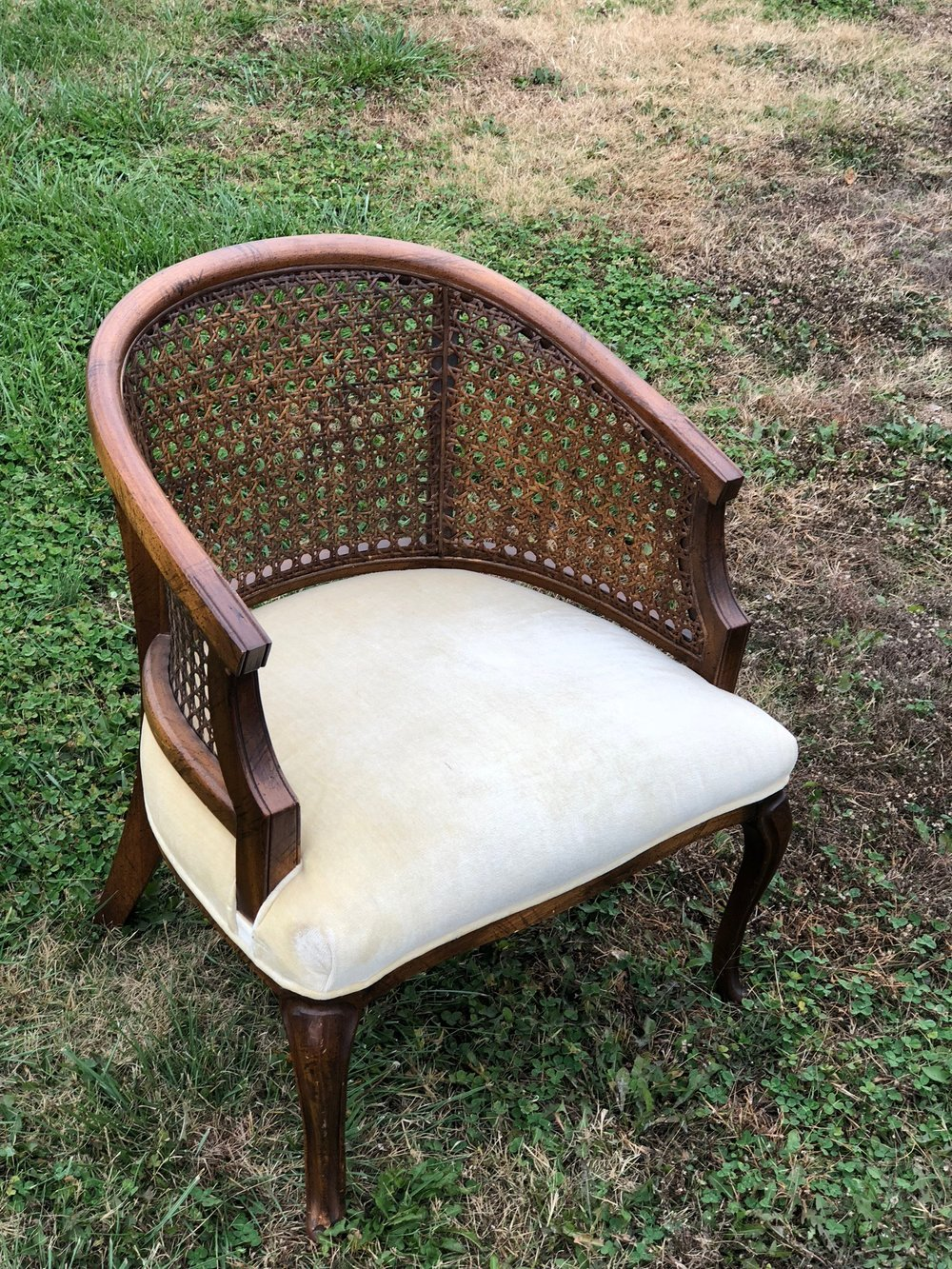 Cream Cane Chair~$20