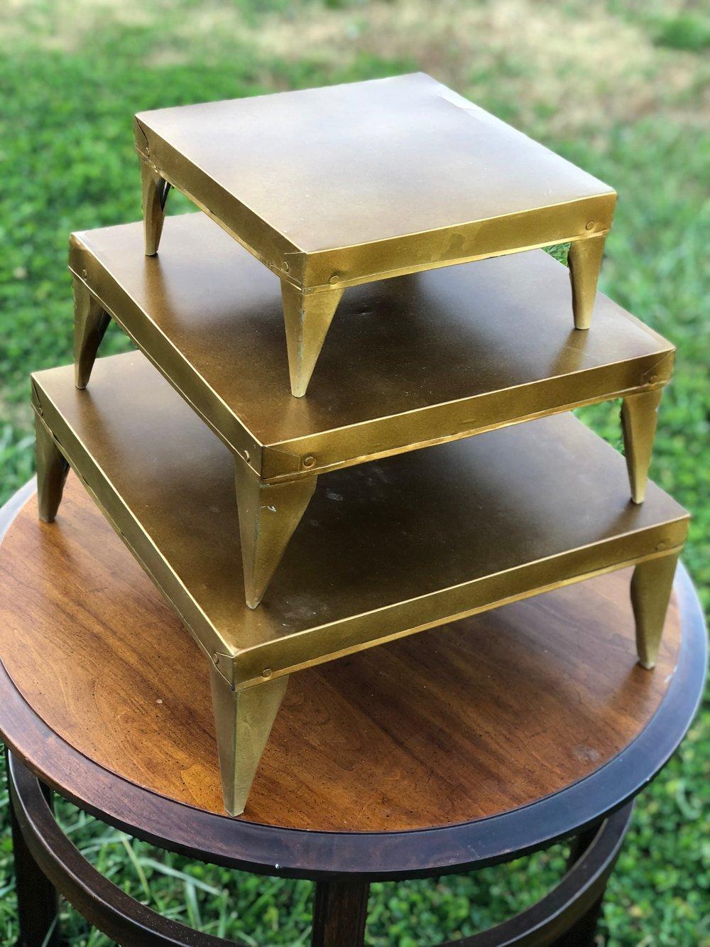 Gold Platforms~Rental $30