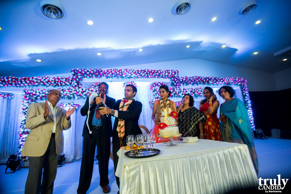 Indian Couple Reception