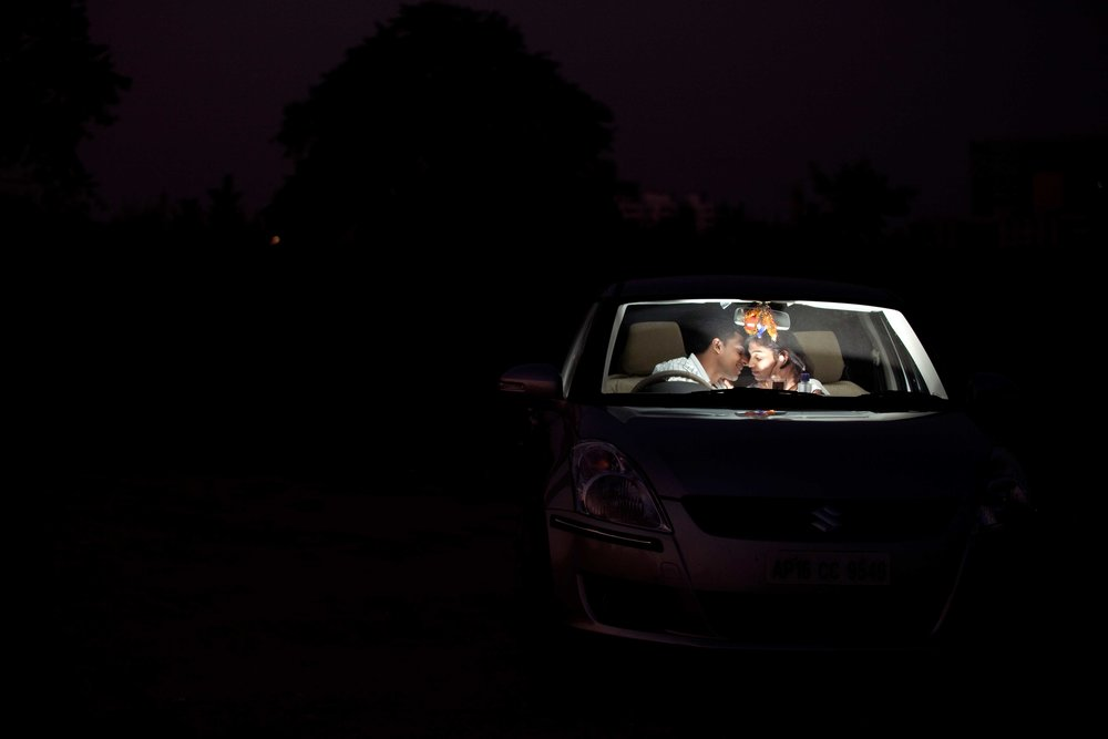 Indian Couple Pre-Wedding Location Shoot