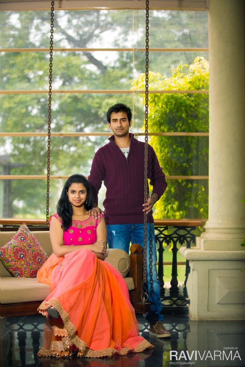 Elegant Indian Couple Location Shoot