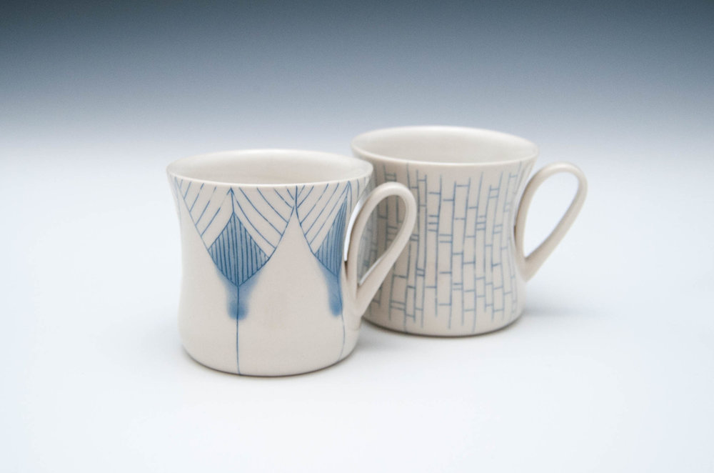Loop-Handled Mugs