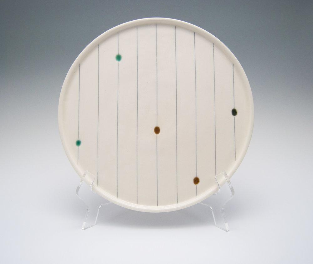 Flow Dots Platter