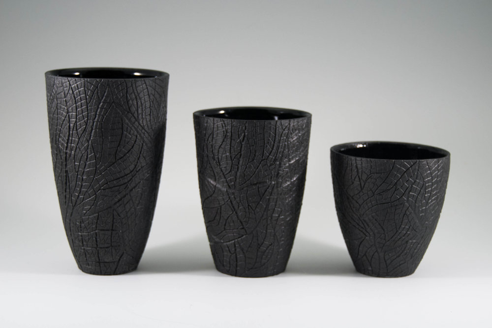 Burned Bark Charcoal Tumblers
