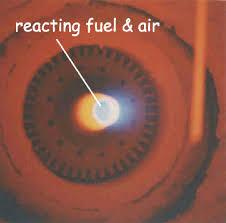 Bruciatore in funzionamento normale (FIAMMA)