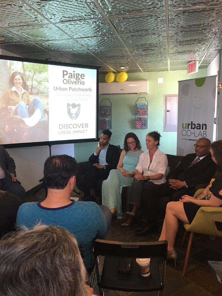 Panelists: Michael Henderson, Chelsea Elliot, Paige Oliverio, Damon Polk