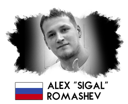 "ALEX ""SIGAL"" ROMASHEV"