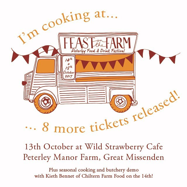 "Come to Feast on the Farm where I'll be cooking a seasonal meal in October at the the Wild Strawberry Café. Early tickets sold out before I'd even had a chance to tell everyone, so we've released a few more. I'll also be doing a seasonal demo with my long term local food hero Keith Bennet from @chilternfarmfood the following day!! Ticket link in my profile - menu is on the @eventbrite page! ""Feast on The Farm is the first food and drinks festival brought to you by the Brill family at Peterley Manor Farm. Long champions of seasonal local produce, this two-day festival will be a celebration of the amazing array of produce that The Chilterns has to offer. ""Expect great seasonal food, the Lea & Sandeman wine bar hosting producer tastings, real ale by Malt the Brewery, talks from local start-ups, workshops from butchery to fermentation and a very special molecular gastronomy for children. Oh and much much more. ""Fabulous local chefs and restaurants will be bringing you a programme of demonstrations from fire pits to foraging to wild game. ""If you are a ""foodie"", a budding food/drink entrepreneur, actively seek out the undiscovered gastronomic gems, or just simply love delicious seasonal food, then this is the festival for you."" Details on the @peterleymanorfarm website. Come along, it will be a lovely day out!"