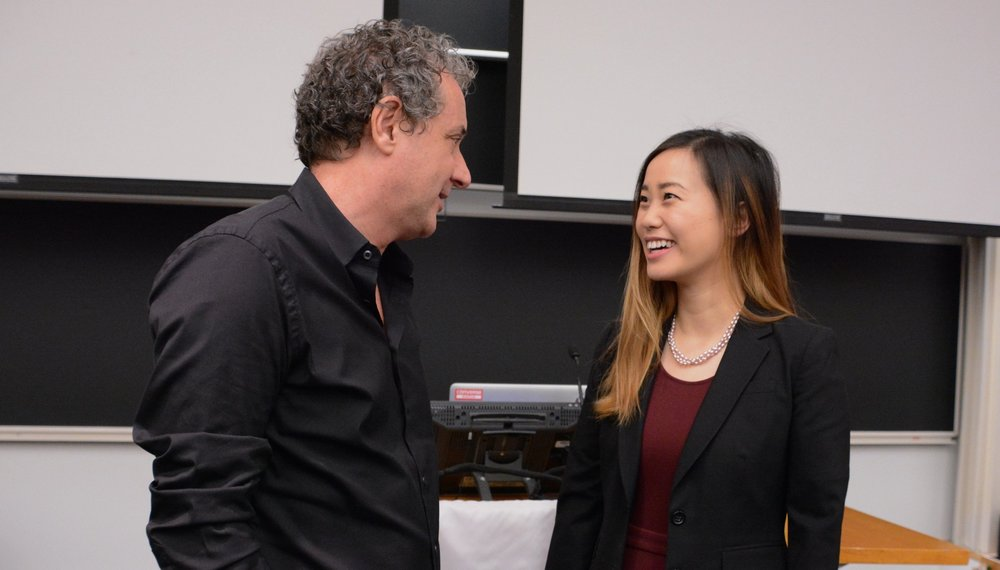 Davide Grasso, CEO of Converse & Michelle Chou MBA '17