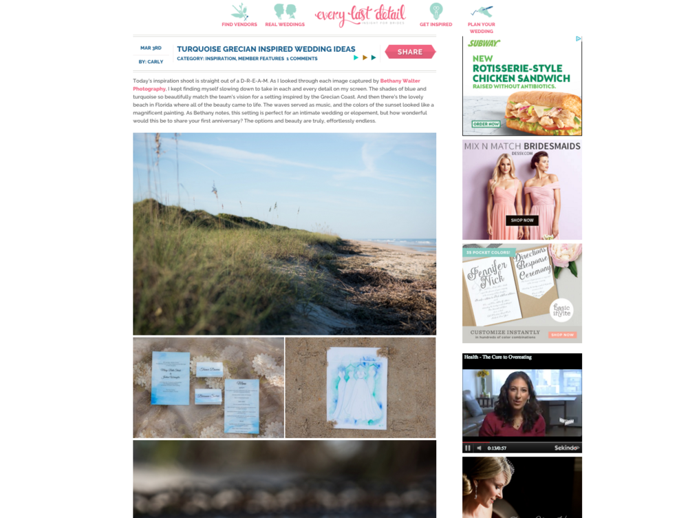 Every Last Detail Wedding Blog
