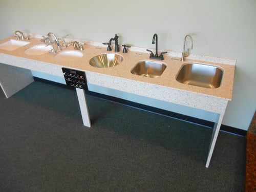 Sinks stone dynamics inc sink display sisterspd