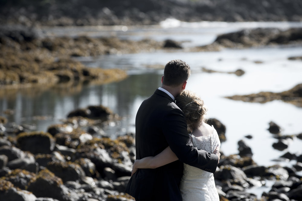 SARAH + KYLE - Bryanna photographed our wedding at the Black Rock in Ucluelet in July 2018. Even before the wedding, she was in contact with us and even met with us to discuss her style of photography and our expectations for the wedding. She was professional and not pushy during the shoot. She has an amazing eye for unique and beautiful photos. She has a pleasant and happy personality, which made our time with her a lot of fun. This was evident in the laughter captured in our photos. She has a great sense of what her clients needs and wants are. We can't say enough good things about her. She even had some photos emailed to us the night our wedding, and she had all of our photos ready within two days. I would highly recommend her for any occasion.